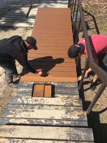 Staff Painting steps 2019